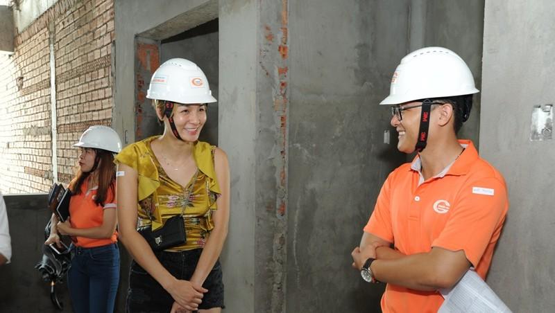 Khách hàng tham gia giám sát công trình Him Lam Phú An  - ảnh 6