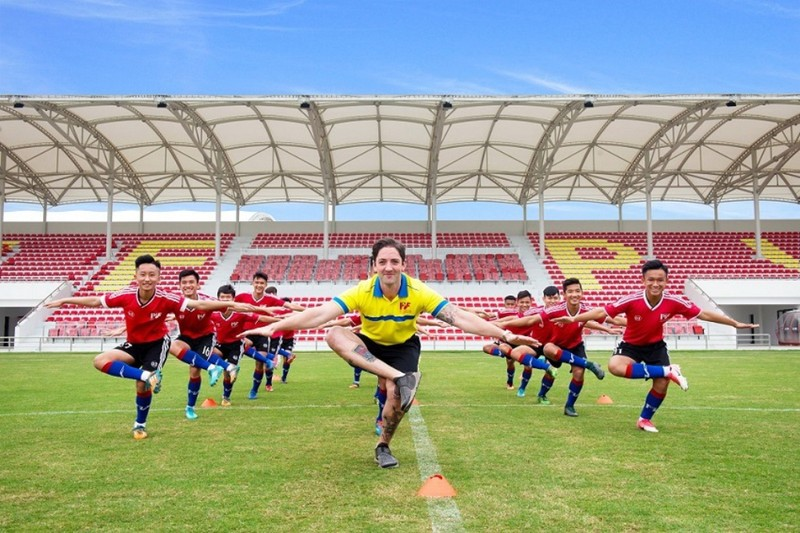 PVF tổ chức các trận đấu giao hữu quốc tế - ảnh 4