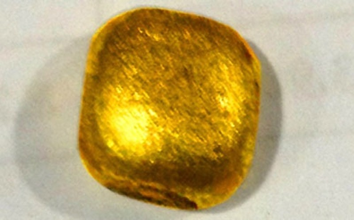 Công bố kết quả kiểm tra vàng 'lạ' vừa xuất hiện tại Việt Nam - ảnh 1