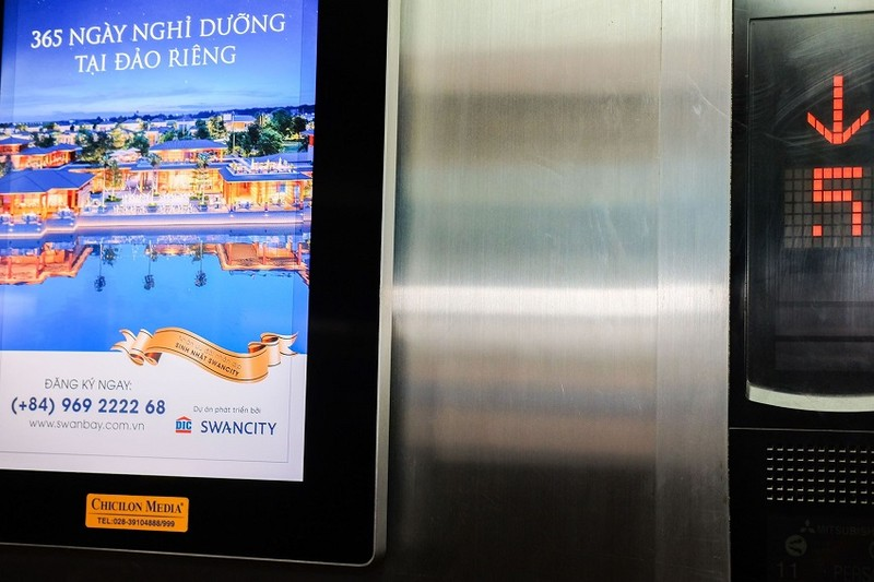 Có được phép quảng cáo trong thang máy không? - ảnh 2