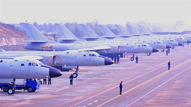 Không quân Trung Quốc tập trận tại tây Thái Bình Dương - ảnh 1