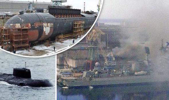 Hé lộ nguyên nhân tàu hạt nhân Nga bốc cháy dữ dội - ảnh 1
