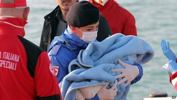 Tàu chở dân di cư lại chìm, 400 người tử nạn? - ảnh 1