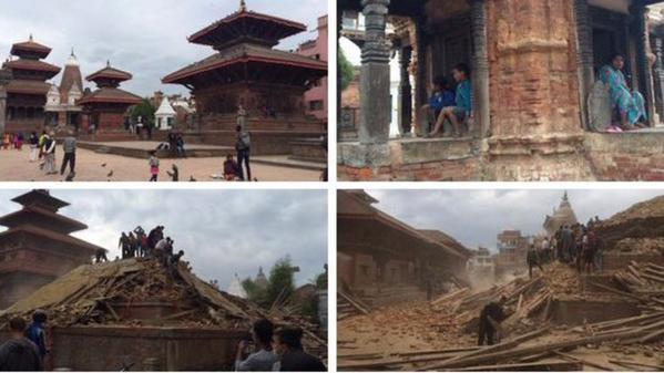 Thông tin mới nhất vụ động đất ở Nepal khiến gần 900 người chết  - ảnh 1