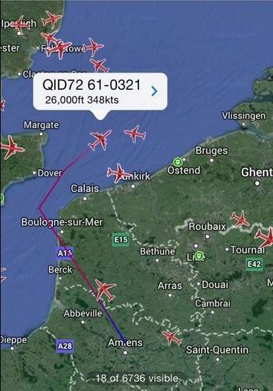 Máy bay không quân Hoa Kỳ mất tích đã hạ cánh an toàn  - ảnh 1