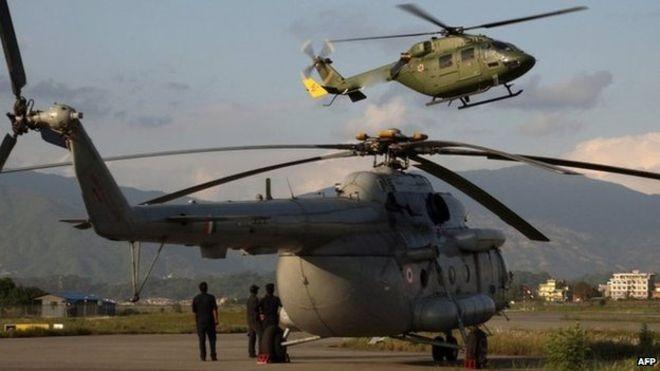 Nepal cấm máy bay chở hàng cứu trợ cỡ lớn hạ cánh - ảnh 1