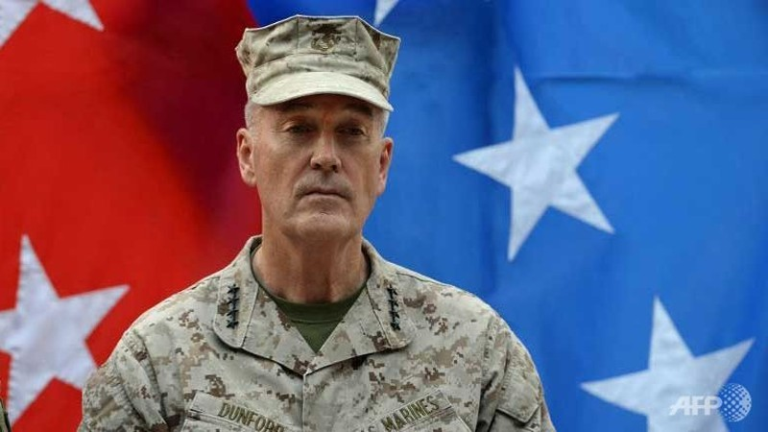 Obama chỉ định tân Chủ tịch Ban Tham mưu trưởng Liên quân mới  - ảnh 1