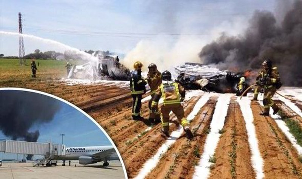 Rơi máy bay quân sự, 10 người thiệt mạng - ảnh 1