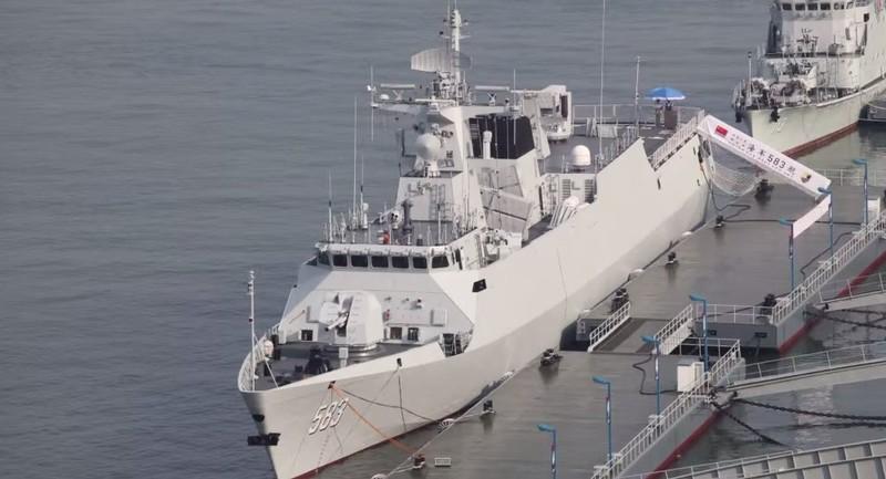Trung Quốc xây dựng Tàu hộ tống chống ngầm - ảnh 1