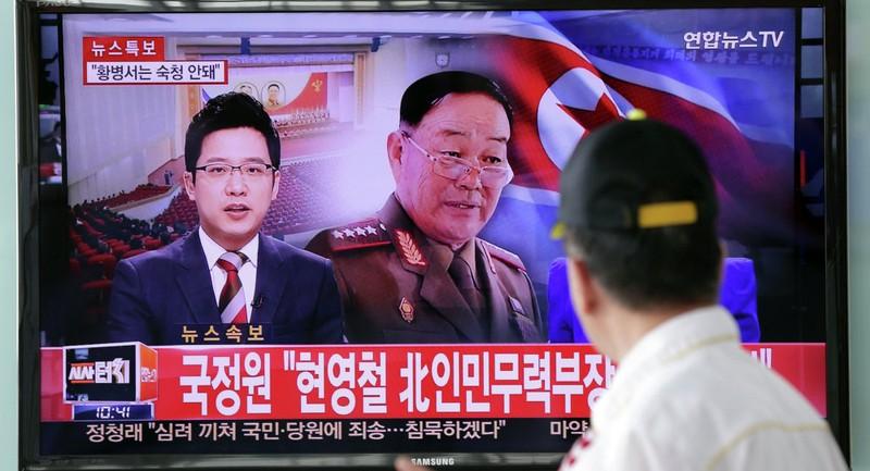 Thực hư chuyện Bộ trưởng Quốc phòng của Triều Tiên bị tử hình - ảnh 1