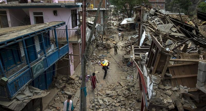 Lại động đất tiếp ở Nepal - ảnh 1
