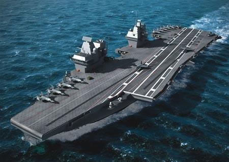 Ấn Độ xây hàng không mẫu hạm ngăn chặn Trung Quốc bành trướng  - ảnh 1
