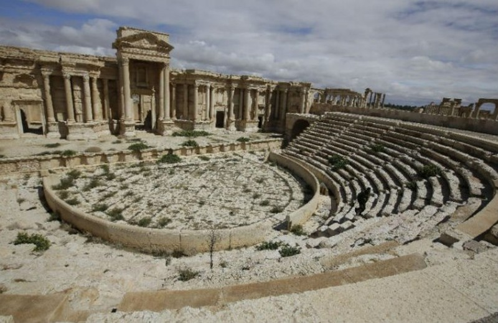 Thành phố cổ Trung Đông bất ngờ bị IS chiếm trọn - ảnh 1