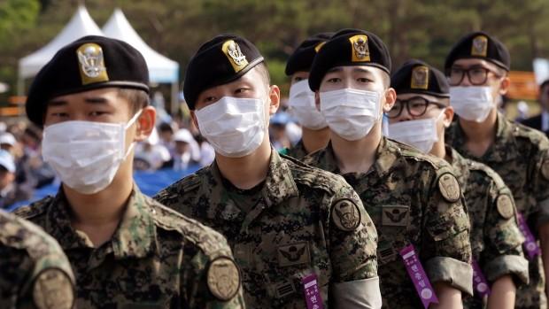 Chùm ảnh cúm Trung Đông 'tấn công' Hàn Quốc - ảnh 7