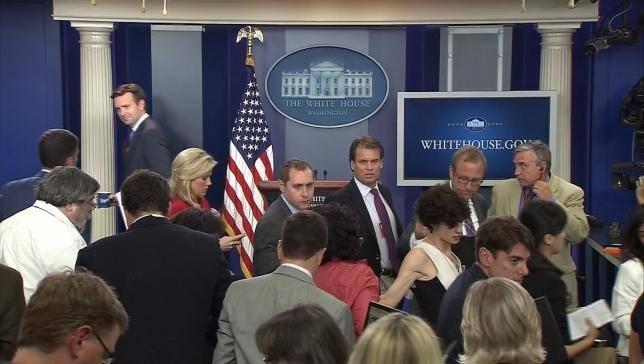 Nhà Trắng sơ tán vì bị tung tin đe dọa đánh bom - ảnh 1