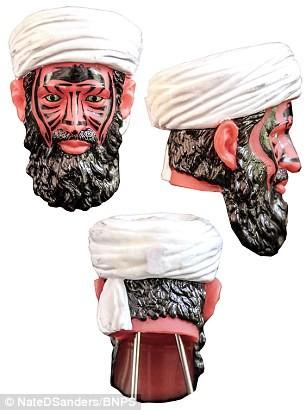 CIA trình làng 'Osama bin Laden mặt đỏ' doạ con nít - ảnh 1