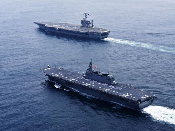 Mỹ, Nhật, Philippines tập trận chung ở biển Đông - ảnh 1