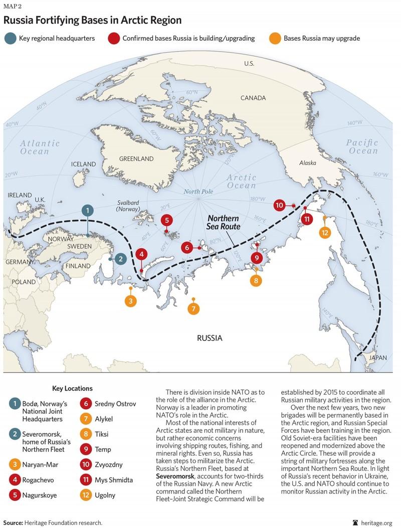 Nga đưa vũ khí khủng đến Bắc Cực - ảnh 1