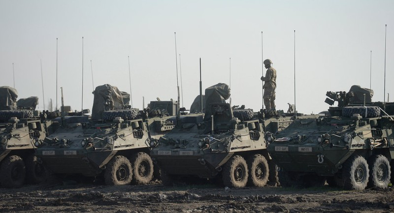 Quân sự Mỹ 'bao vây' biên giới Nga thông qua NATO - ảnh 2