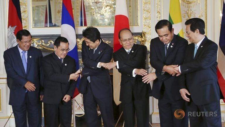 Cạnh tranh Trung Quốc, Nhật Bản rót 6 tỉ đô vào Mekong - ảnh 1