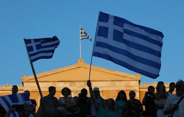 Dân Hy Lạp nói 'không' với cứu trợ châu Âu - ảnh 1