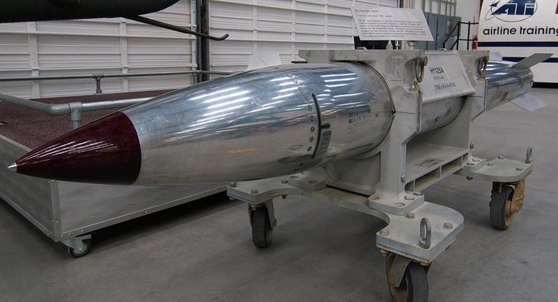Quân đội Hoa Kì thử nghiệm thành công bom trọng lực hạt nhân  - ảnh 1