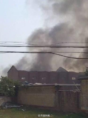 Trung Quốc: Nổ nhà máy pháo hoa, 15 người thiệt mạng - ảnh 1