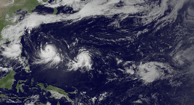 Nhật Bản căng mình hứng thêm cơn bão mới - ảnh 1