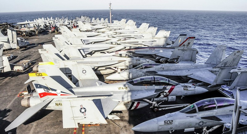 Kế hoạch tăng cường hiện diện toàn cầu tàu sân bay Mỹ  - ảnh 2
