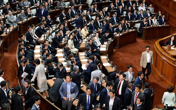 TQ cáo buộc Nhật Bản  làm 'tê liệt nền hòa bình và an ninh khu vực' - ảnh 1