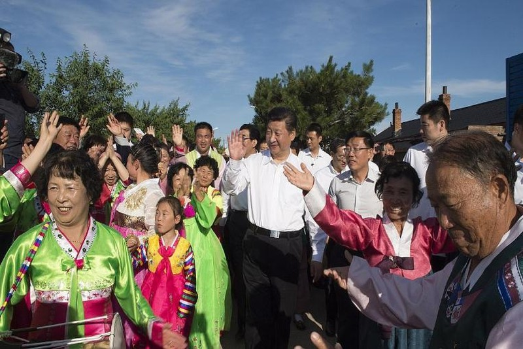 Ông Tập Cận Bình thăm vùng biên giới 'nhạy cảm' với Triều Tiên - ảnh 1
