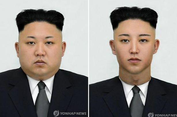 Lan truyền hình ảnh 'thon gọn' của Kim Jong-Un - ảnh 1