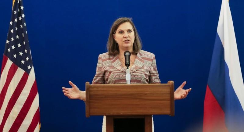 Mỹ dọa tăng cường áp lực với Nga nếu xung đột Ukraine leo thang - ảnh 1
