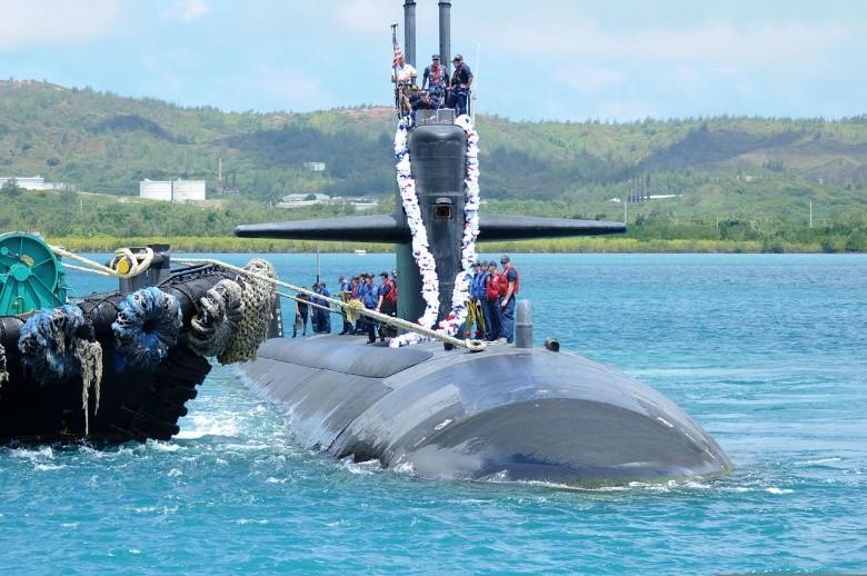 Mỹ đưa tàu ngầm hiện đại nhất tới Philippines - ảnh 1