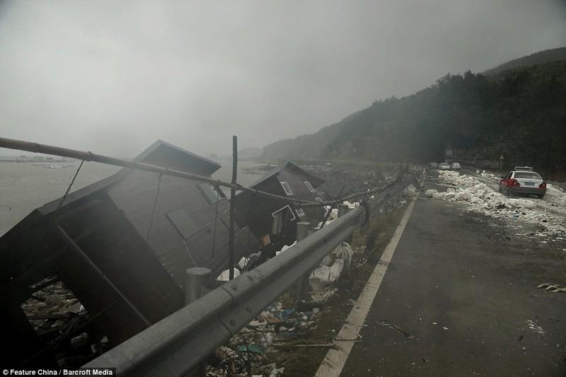 Siêu bão Soudelor: 14 người chết, thiệt hại nặng nề tại miền Đông Trung Quốc - ảnh 1