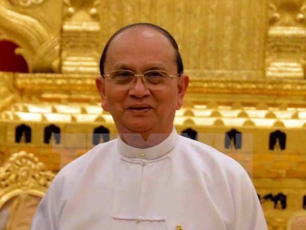 Lực lượng an ninh bao vây trụ sở đảng cầm quyền Myanmar - ảnh 1