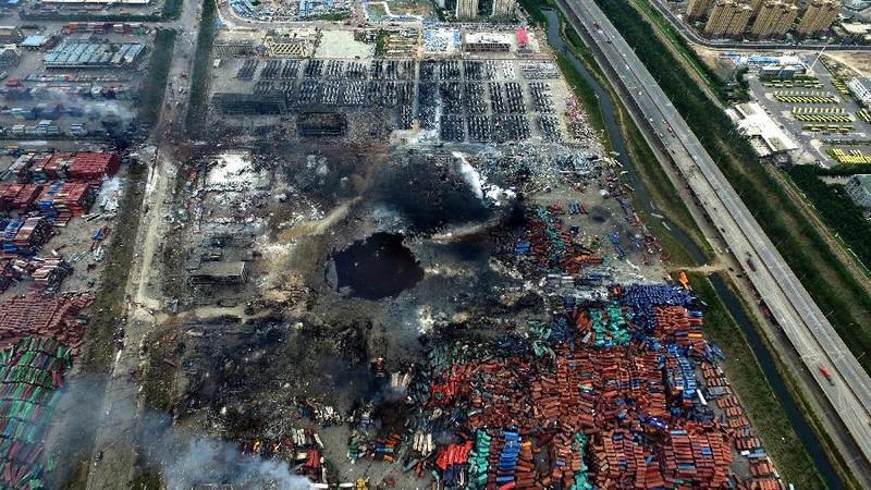 Cập nhật vụ nổ Thiên Tân: Đã có 85 người chết - ảnh 1