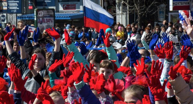 'Crimea sáp nhập vào Nga mang lại lợi ích cho Unkraine' - ảnh 1