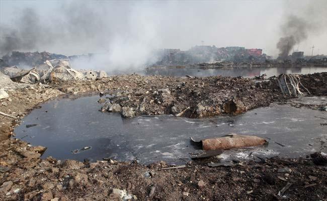 Hàm lượng chất độc gần vụ nổ Thiên Tân cao gấp 356 lần mức cho phép - ảnh 1