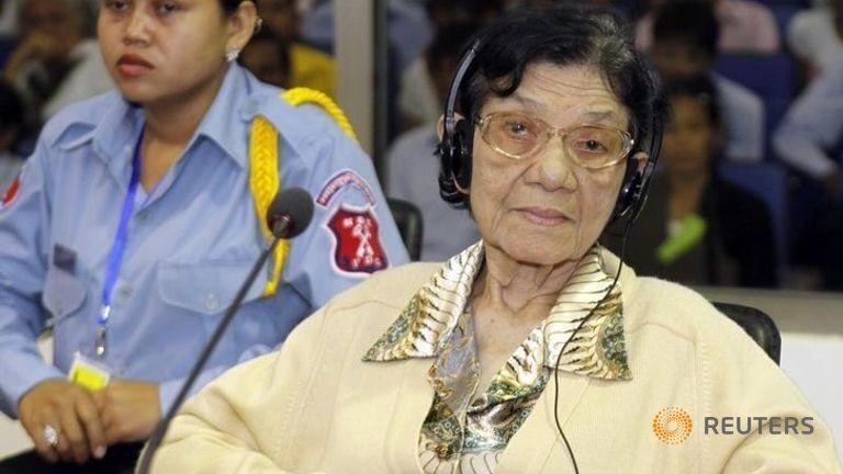 Cựu 'Đệ nhất phu nhân' Khmer Đỏ qua đời - ảnh 1