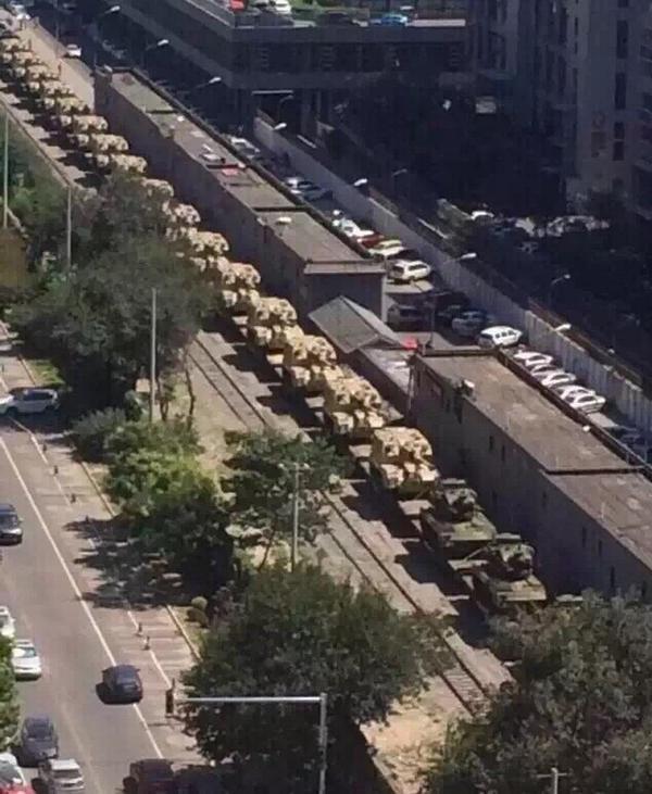 Trung Quốc triển khai xe tăng, Mỹ sẽ đưa B-52 đến biên giới liên Triều? - ảnh 1