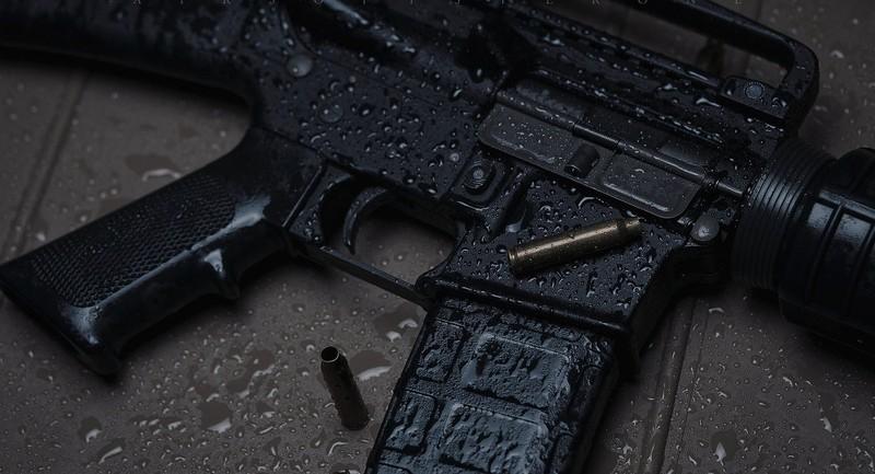 IS sử dụng vũ khí Mỹ để tập luyện - ảnh 1