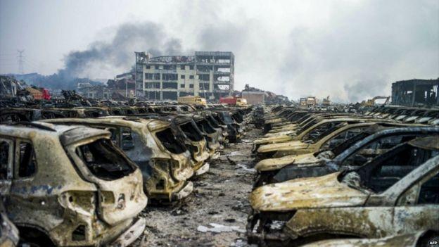 Công bố số tiền thiệt hại khủng vụ nổ Thiên Tân - ảnh 1
