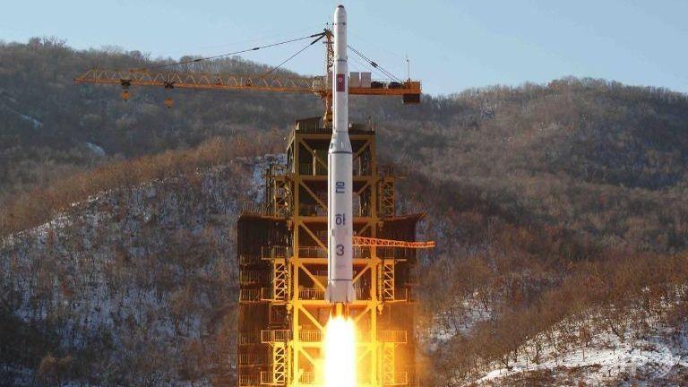'Triều Tiên phóng tên lửa là hành vi khiêu khích nghiêm trọng' - ảnh 1