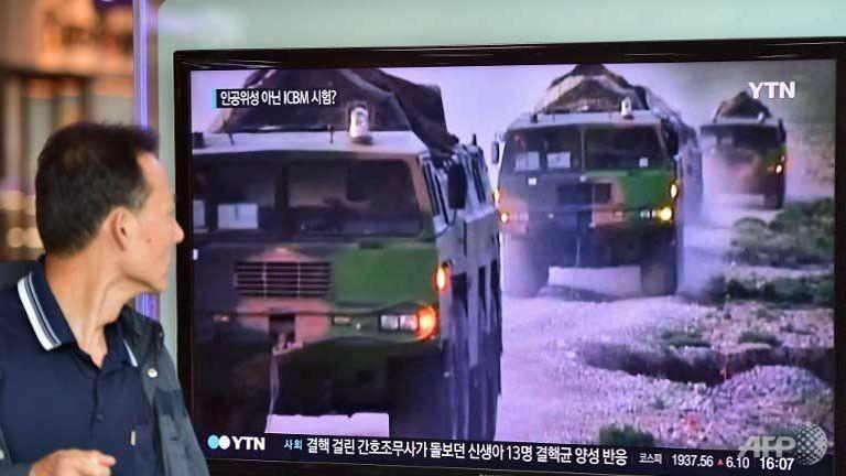 Mỹ cảnh báo trả đũa 'sự khiêu khích' từ Triều Tiên - ảnh 1
