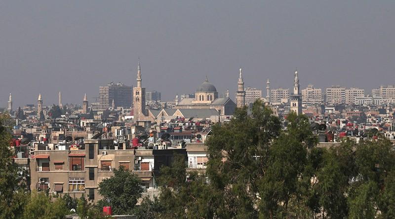 Đại sứ quán Nga tại Syria bị nã pháo - ảnh 1