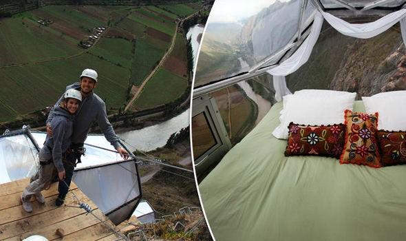 Bạn dám ngủ trong căn phòng được treo ở độ cao 4.000 m? - ảnh 2