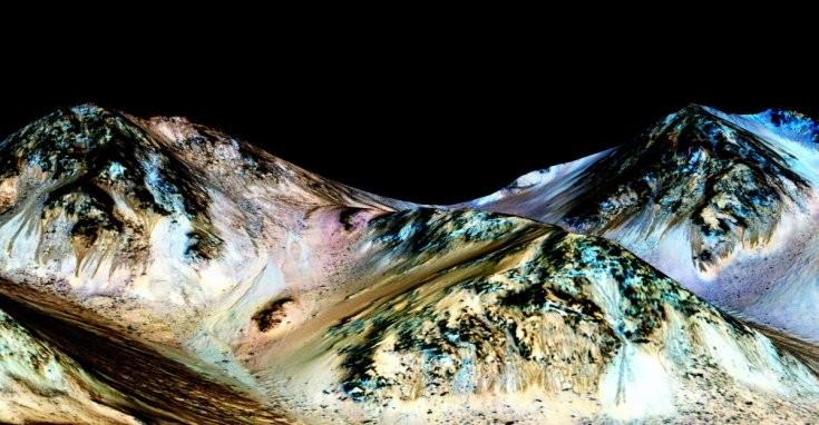 Nước trên sao Hỏa hứa hẹn cho dấu hiệu của sự sống? - ảnh 1