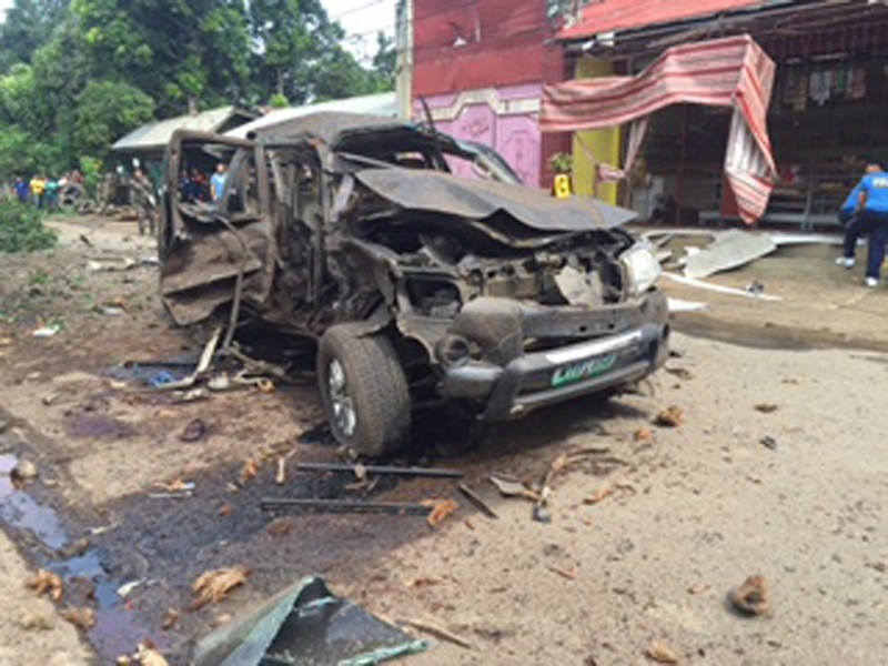 Đánh bom liên tiếp tại Philippines: 4 người chết, 30 người bị thương - ảnh 1