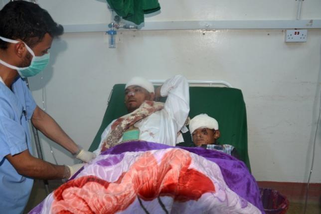 3 chú rể thiệt mạng trong cuộc tấn công tên lửa tại Yemen - ảnh 1